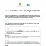 2014 Junior Folklorist Challenge Guidelines_FINAL