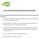 Submission-Checklist