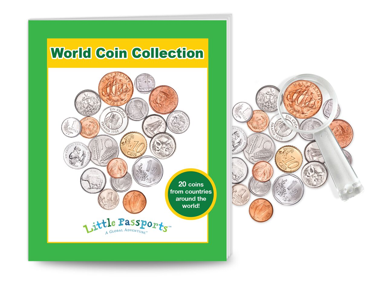 Little Passports World Coin Collection